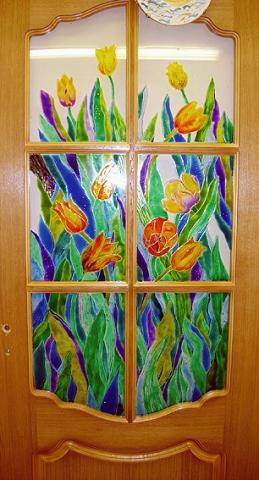 Рисунки стекле роспись стекла