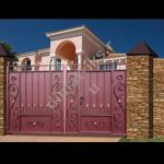 фотогалерея типовые кованые ворота