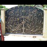 фотогалерея кованые ворота на заказ
