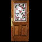 фотогалерея примеры дверей с витражами